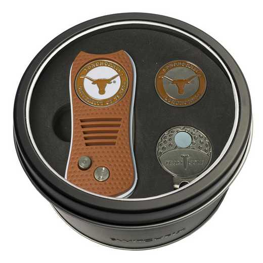 23357: Tin GtST Swchfx DVT CpClip Ball Mkr Texas Longhorns